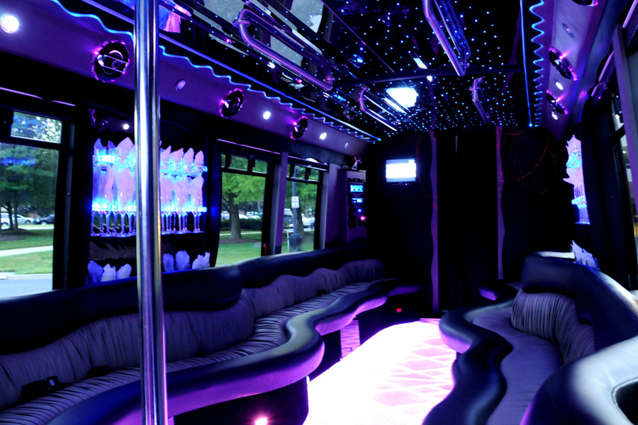 City Tour Limo Bus Las Vegas
