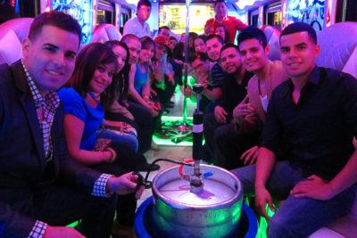 birthday party bus