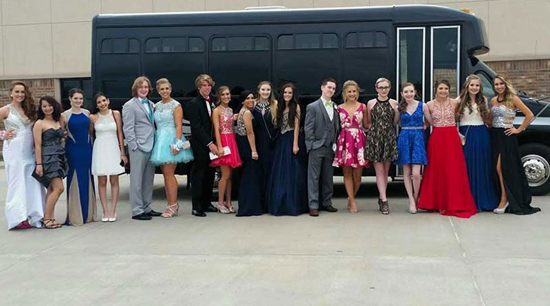 Party Bus Rental for Prom